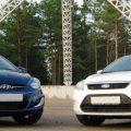 Hyundai Solaris и Ford Focus