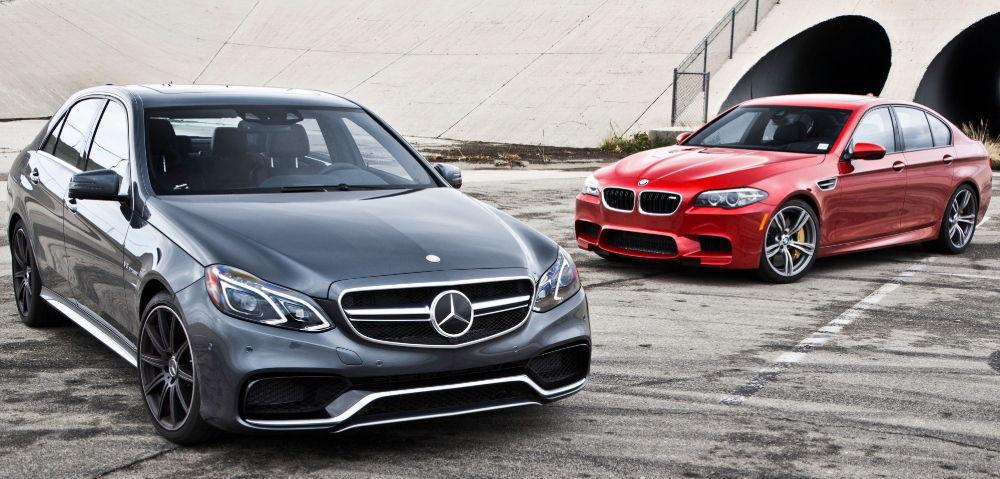 Mercedes и BMW