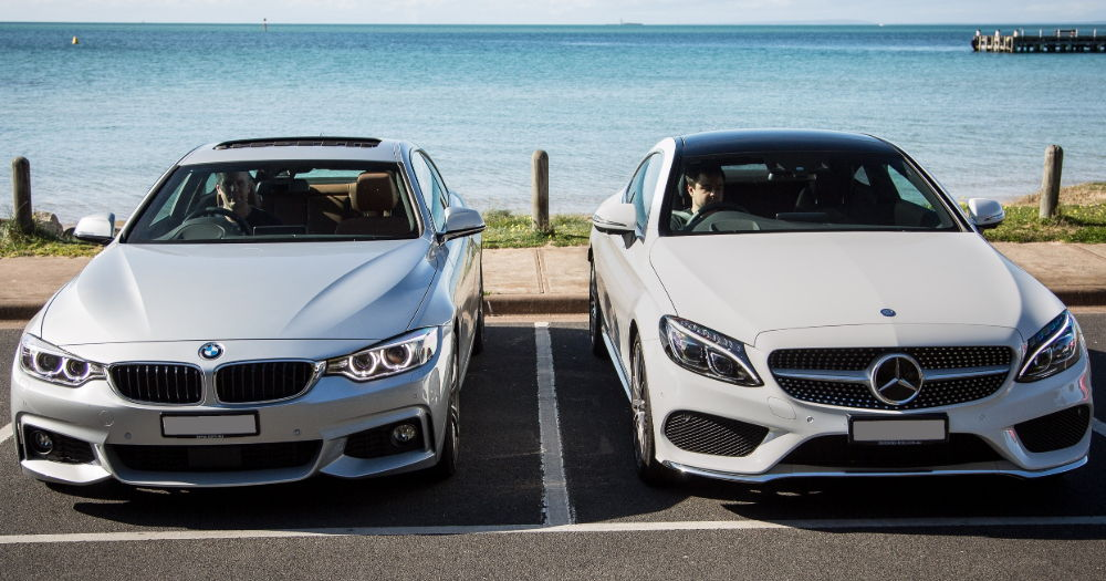BMW против Mercedes
