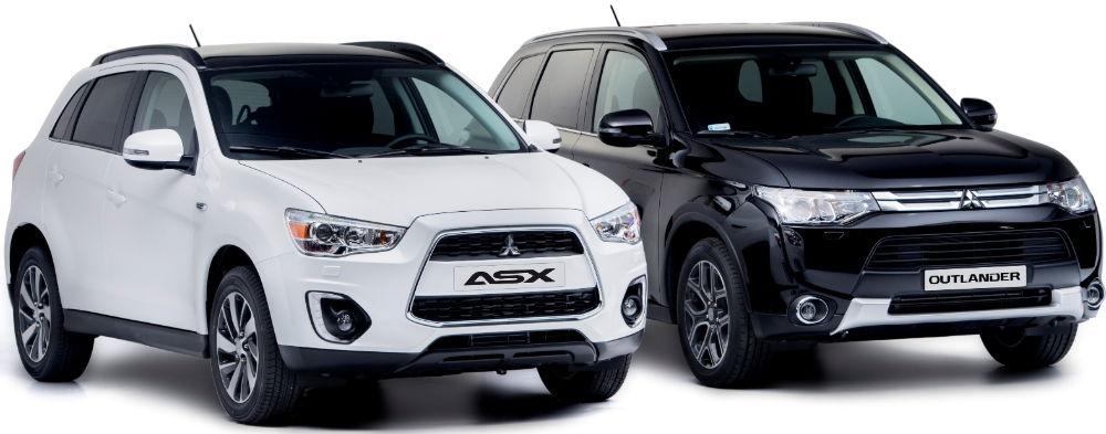 Mitsubishi ASX и Outlander