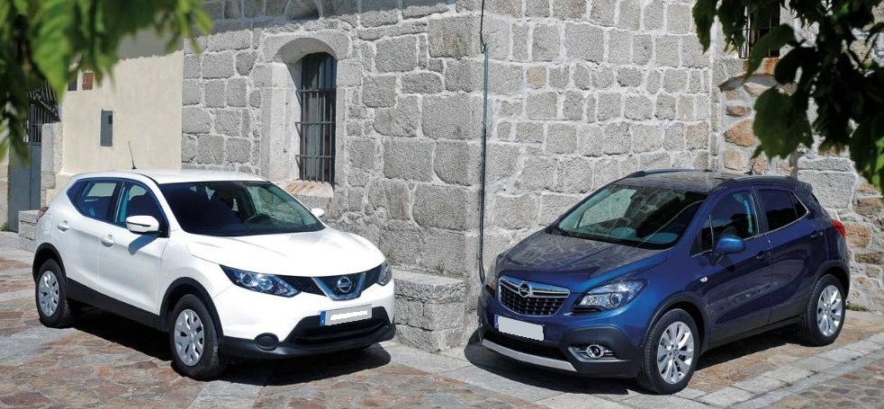 Opel Mokka и Nissan Qashqai