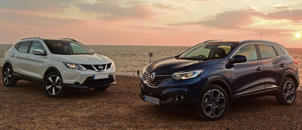 Renault Kaptur и Nissan Qashqai
