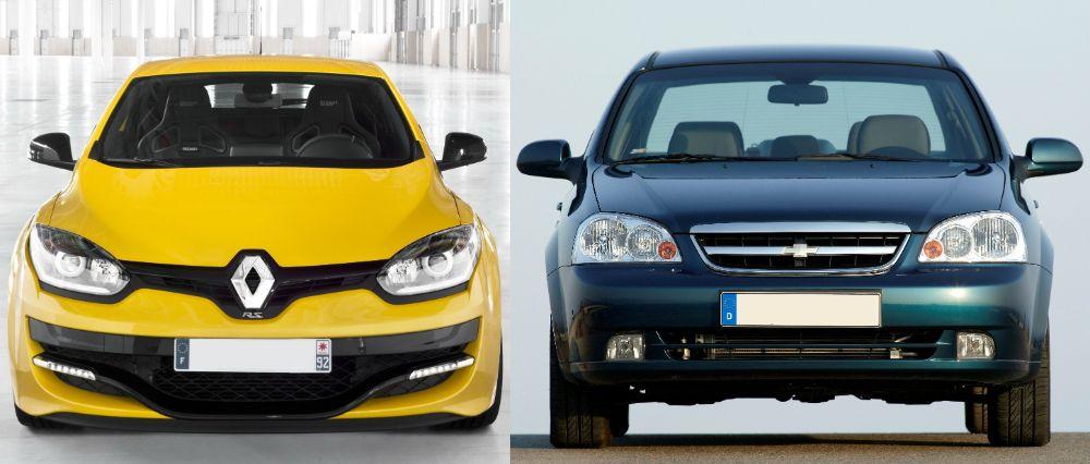 Renault Megane Chevrolet Lacetti - Что лучше рено меган или шевроле лачетти