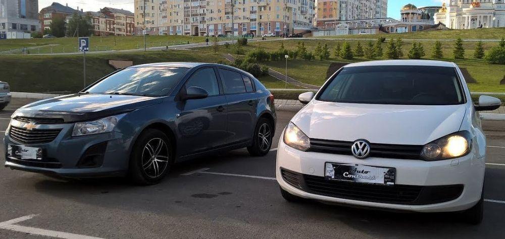 Volkswagen Polo и Chevrolet Cruze