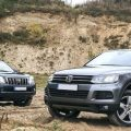 Volkswagen Touareg и Toyota Land Cruiser Prado