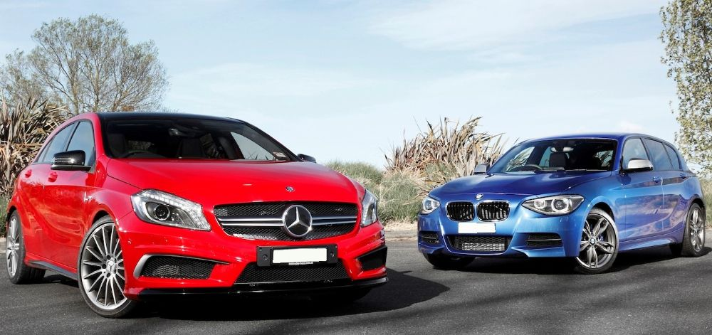 BMW и Mercedes