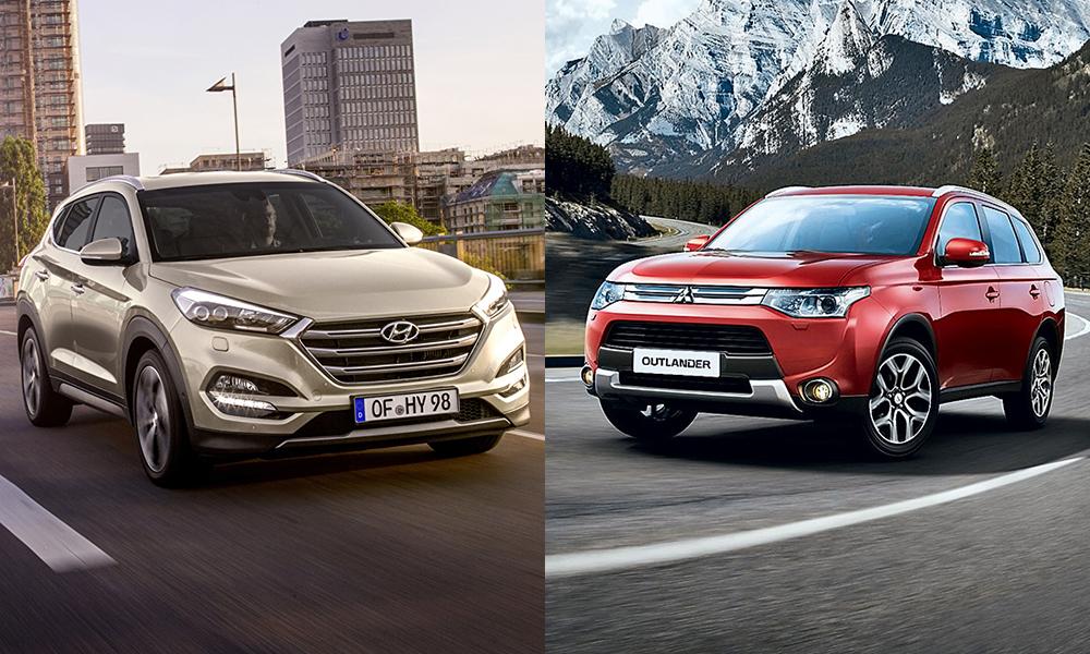 Что выбрать Hyundai Tucson или Mitsubishi Outlander