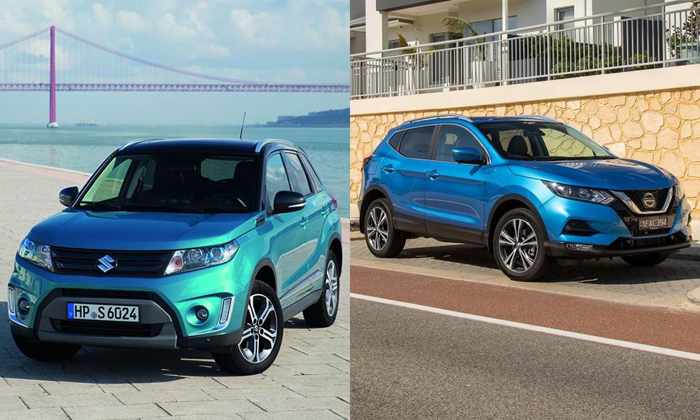 Что выбрать Nissan Qashqai и Suzuki Vitara