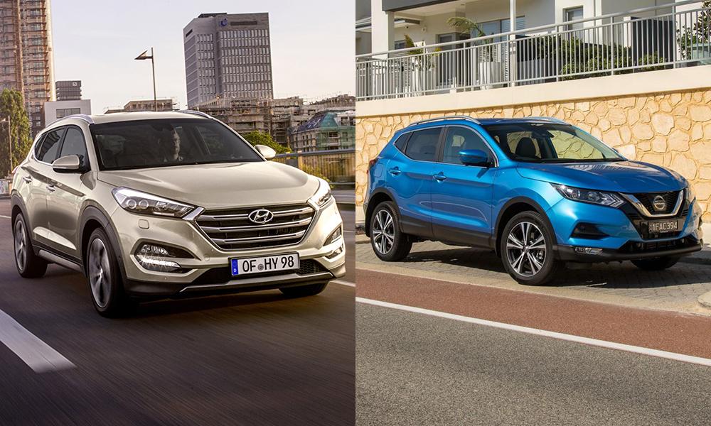 Что выбрать Nissan Qashqai или Hyundai Tucson