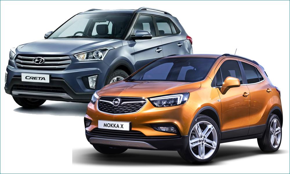 Hyundai Creta или Opel Mokka