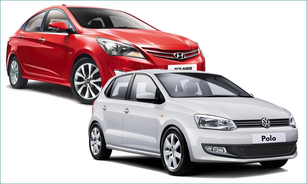 Hyundai Solaris или Volkswagen Polo