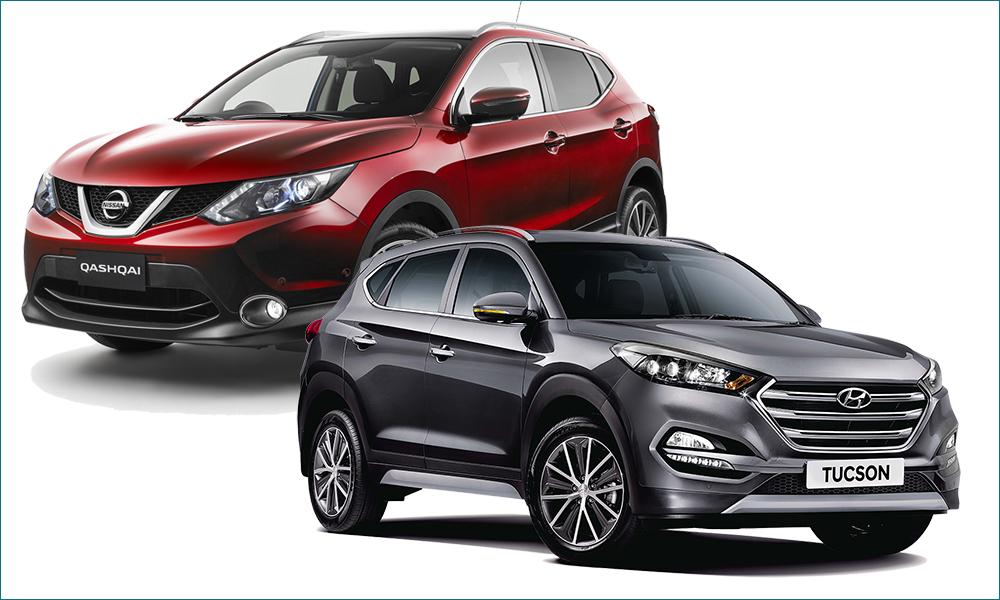 Nissan Qashqai или Hyundai Tucson