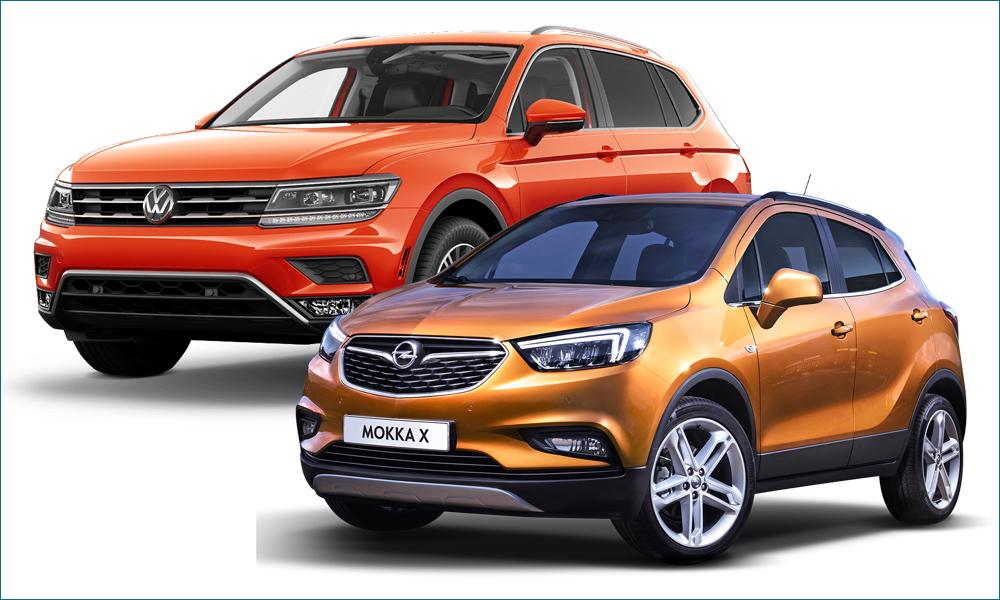 Opel Mokka или Volkswagen Tiguan