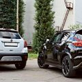 Nissan Juke и Opel Mokka