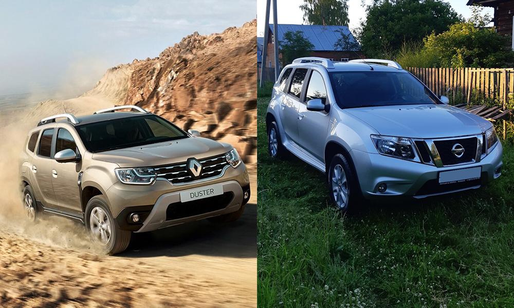 Сравнение Renault Duster и Nissan Terrano