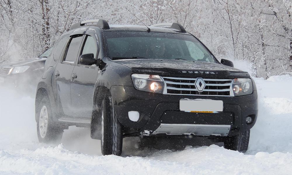Renault Duster на трассе