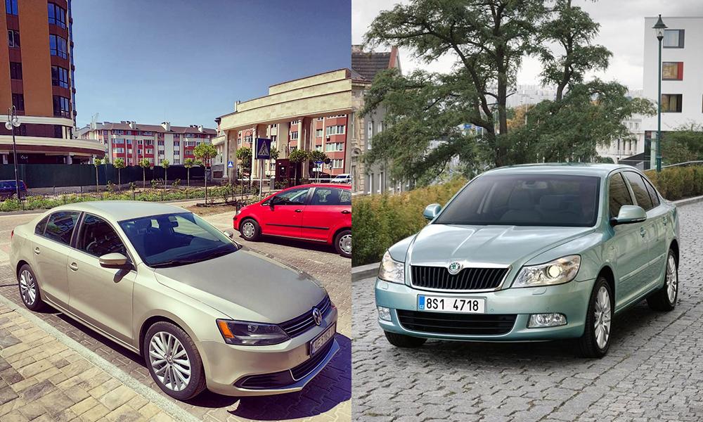 Сравнение Volkswagen Jetta и Skoda Octavia