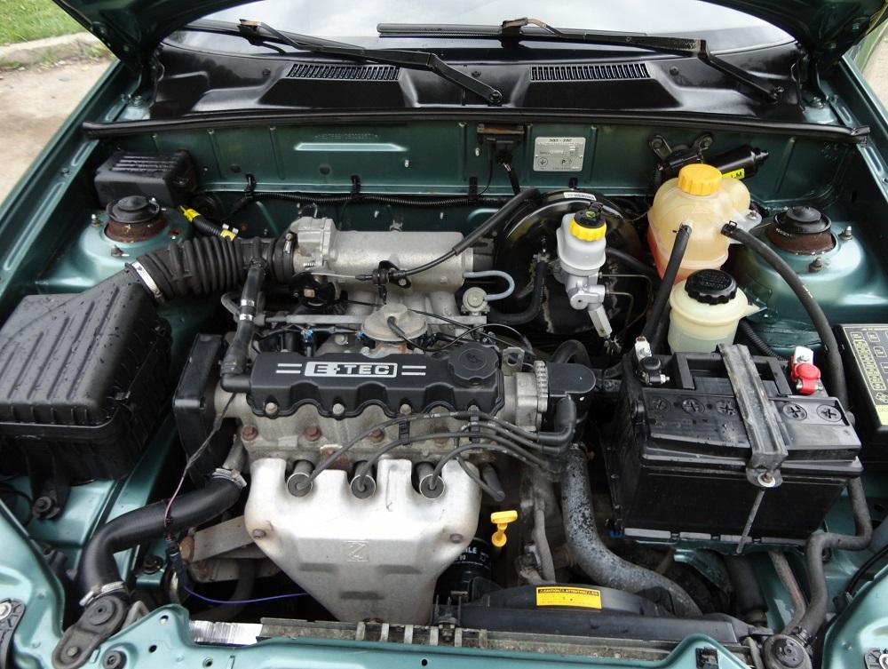 Chevrolet Lanos под капотом