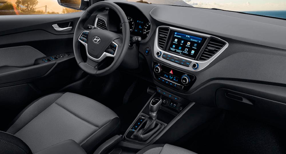 Hyundai Accent салон изнутри