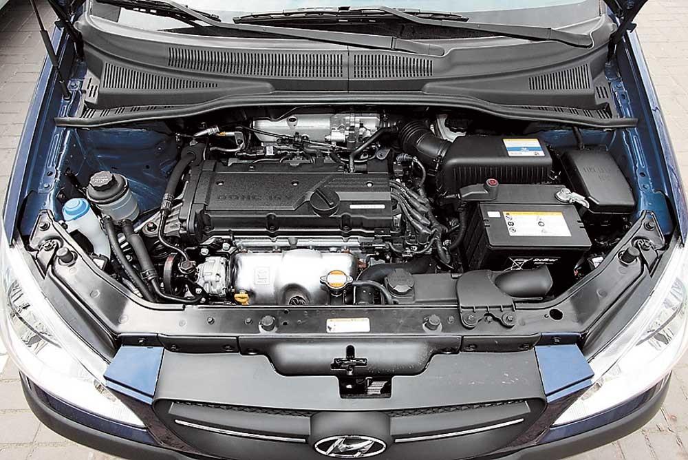 Hyundai Getz под капотом