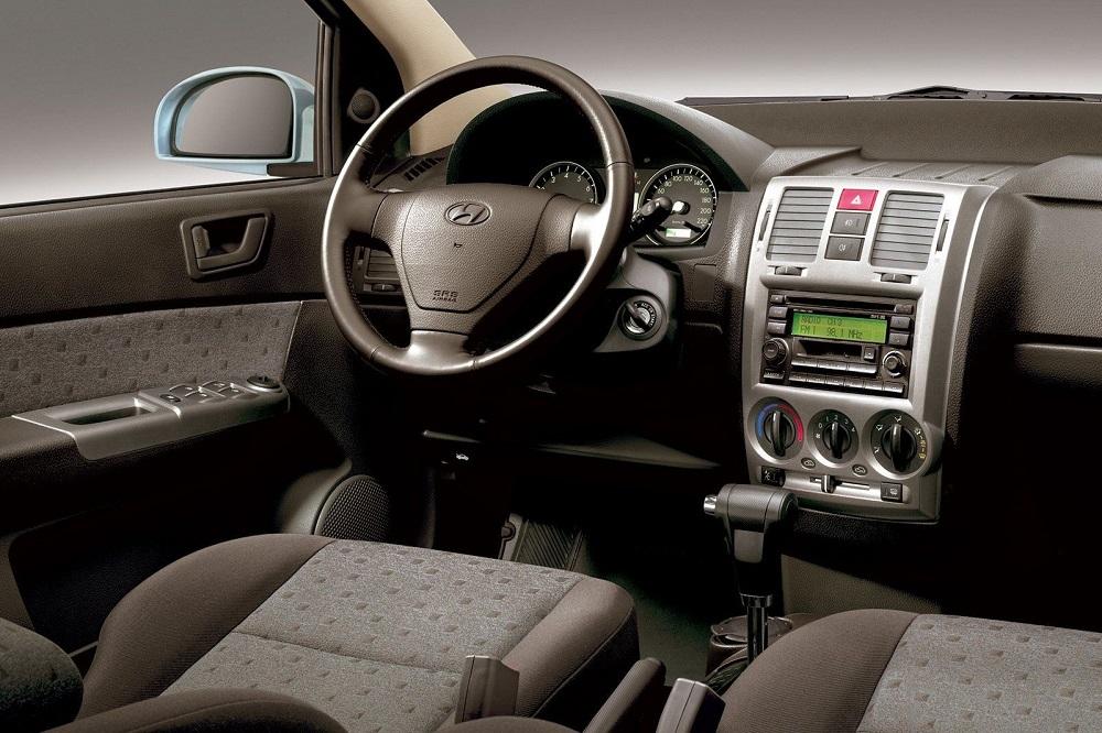 Hyundai Getz салон изнутри