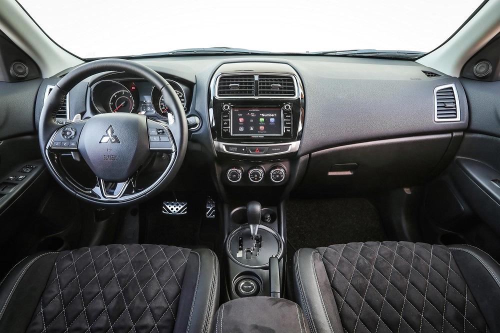 Салон автомобиля Mitsubishi ASX