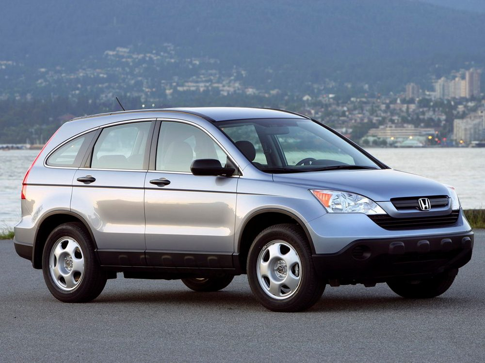 Покупка Honda-CR-V с пробегом