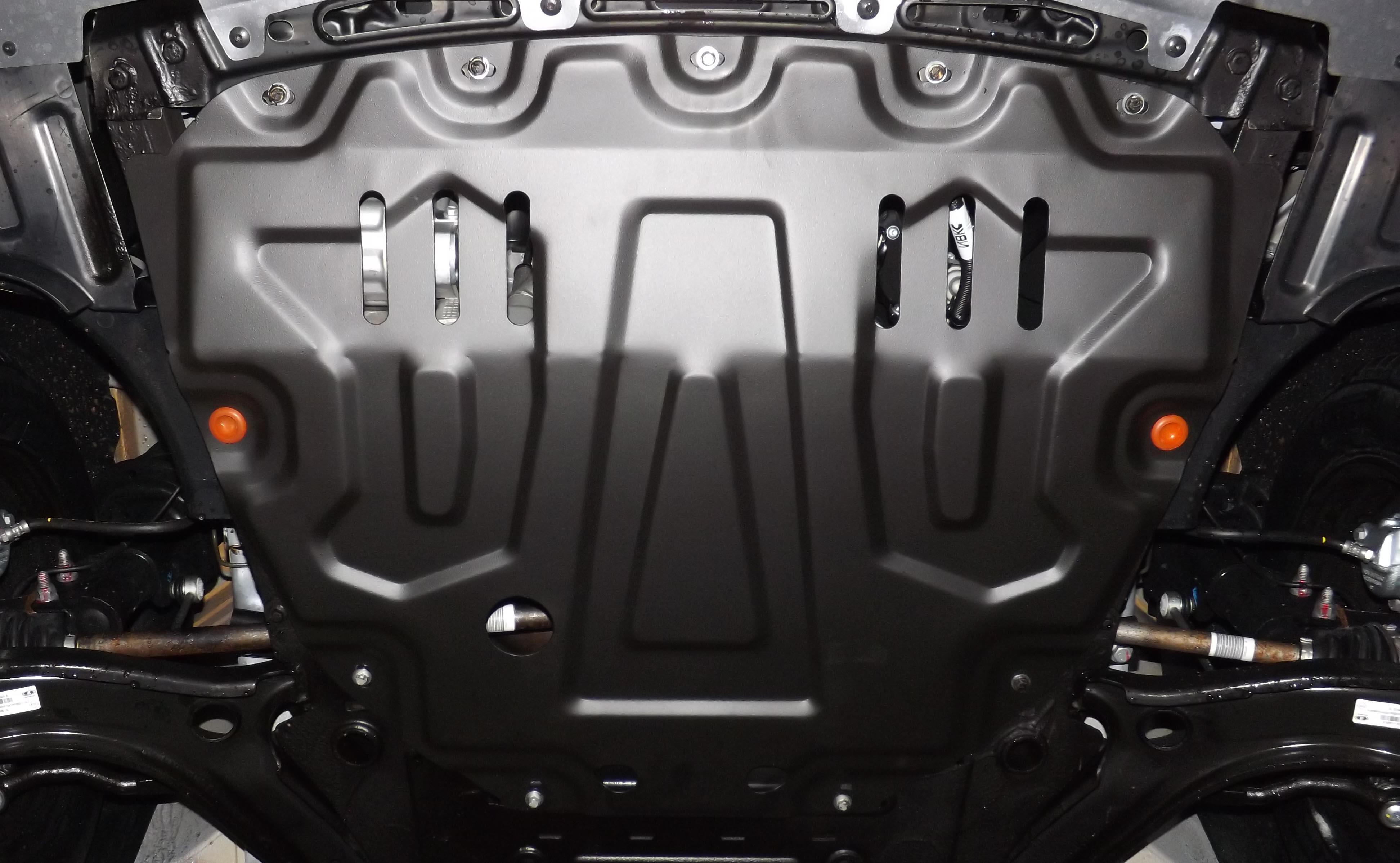 Алюминиевая защита для авто