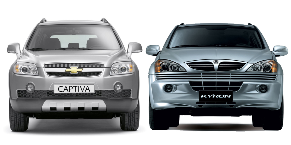 Chevrolet Captiva или SsangYong Kyron