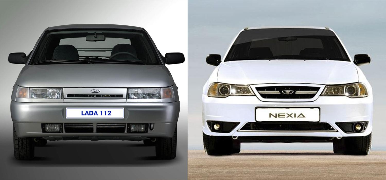 Daewoo Nexia или ВАЗ-2112