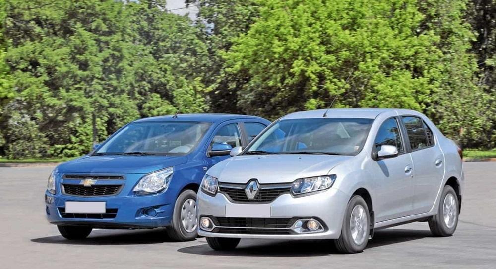 Renault Logan и Chevrolet Lacetti