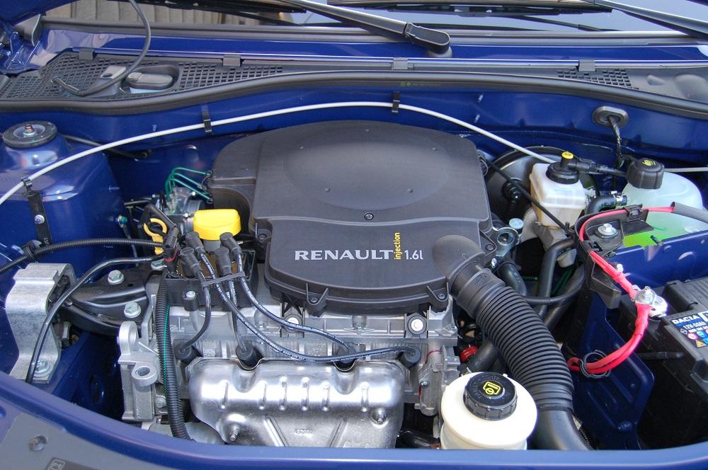 Renault Logan под капотом
