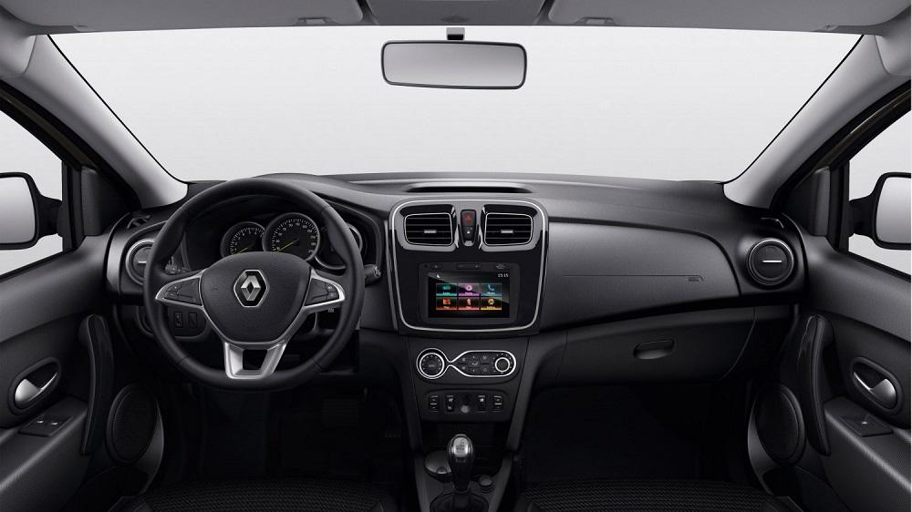Салон автомобиля Renault Logan