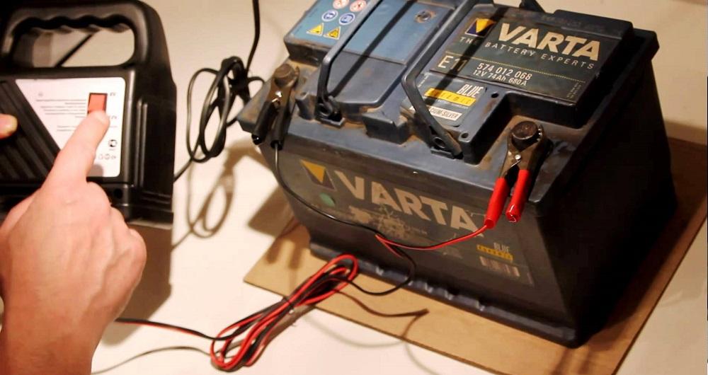 Аккумулятор и зарядное устройство