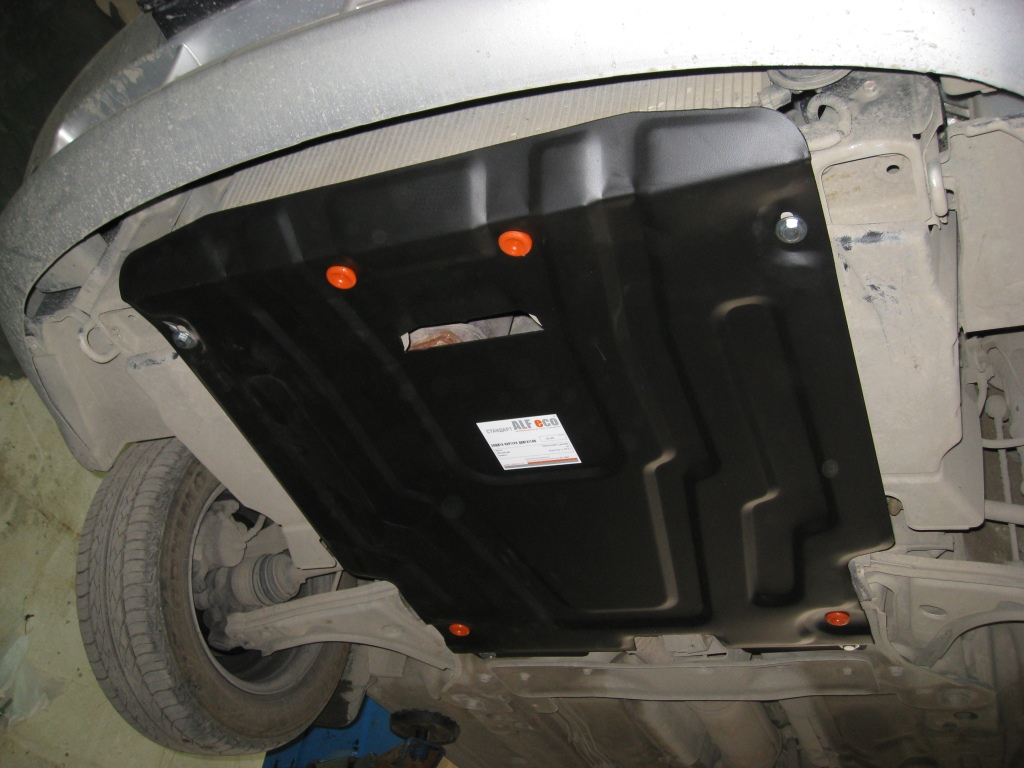 Защита картера двигателя авто