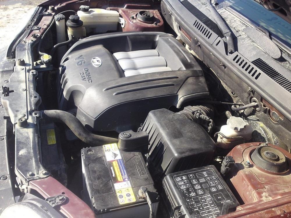 Двигатель Santa Fe