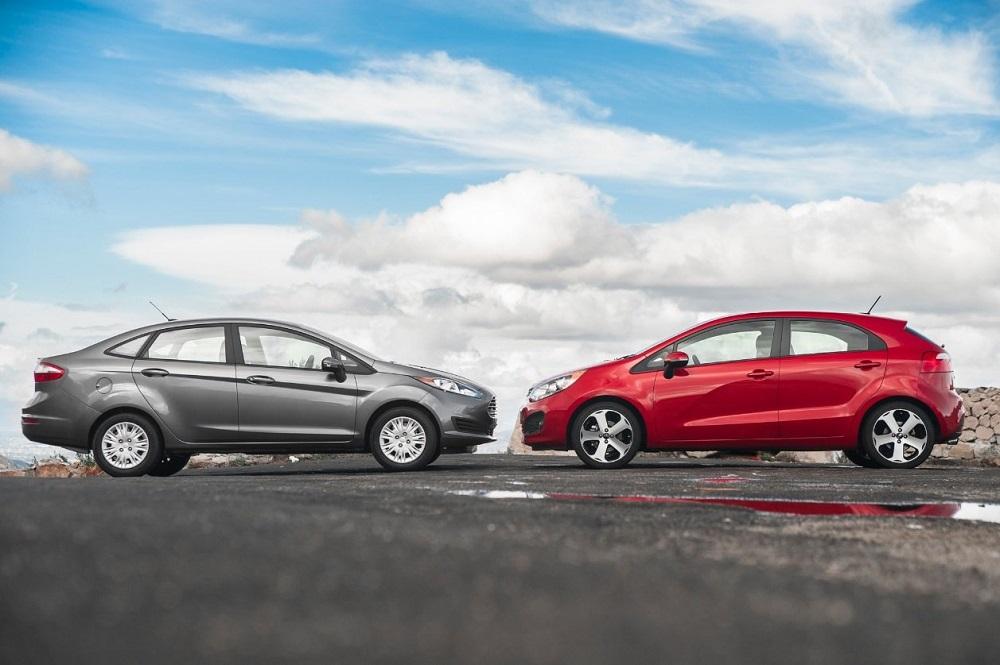 Kia Rio и Ford Focus