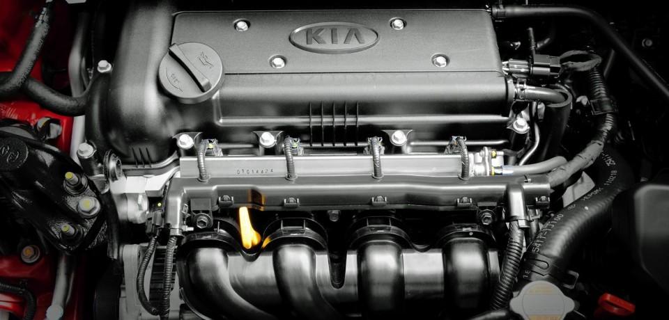 Kia Rio мотор