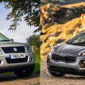 Kia Sportage и Suzuki Grand Vitara
