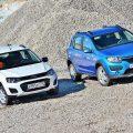 Lada Kalina и Renault Sandero