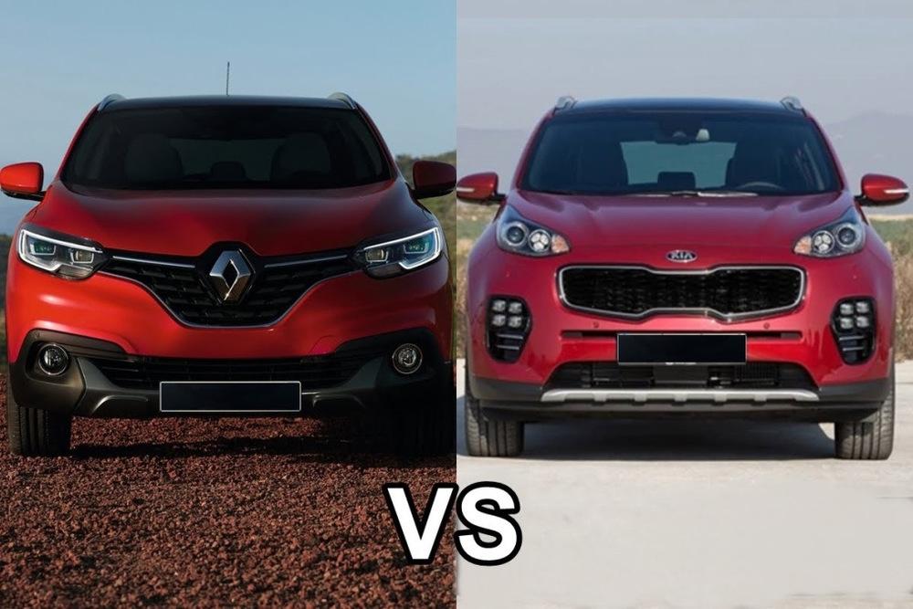 Renault Kaptur и Kia Sportage
