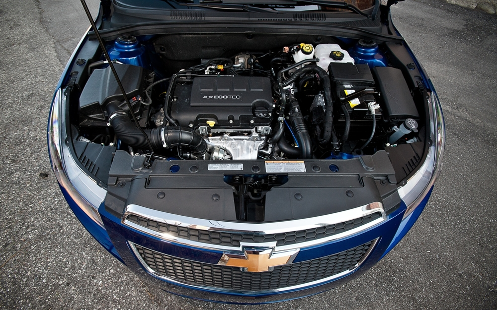 Chevrolet Cruze двигатель