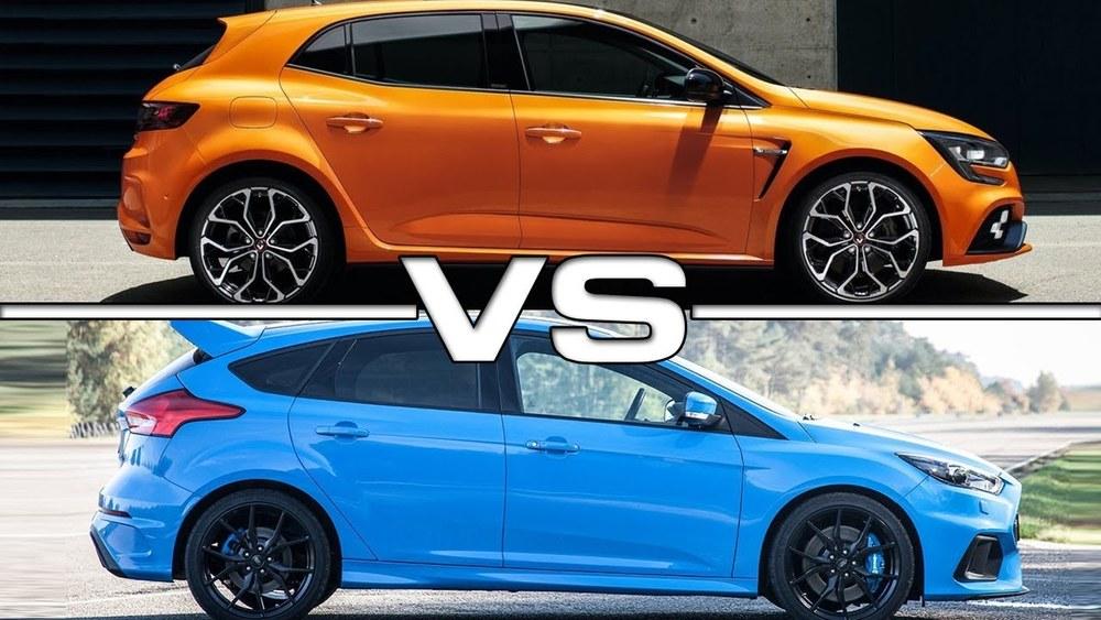 Ford Focus и Renault Megane