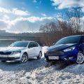 Ford Focus и Skoda Octavia