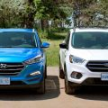 Ford Kuga и Hyundai Tucson