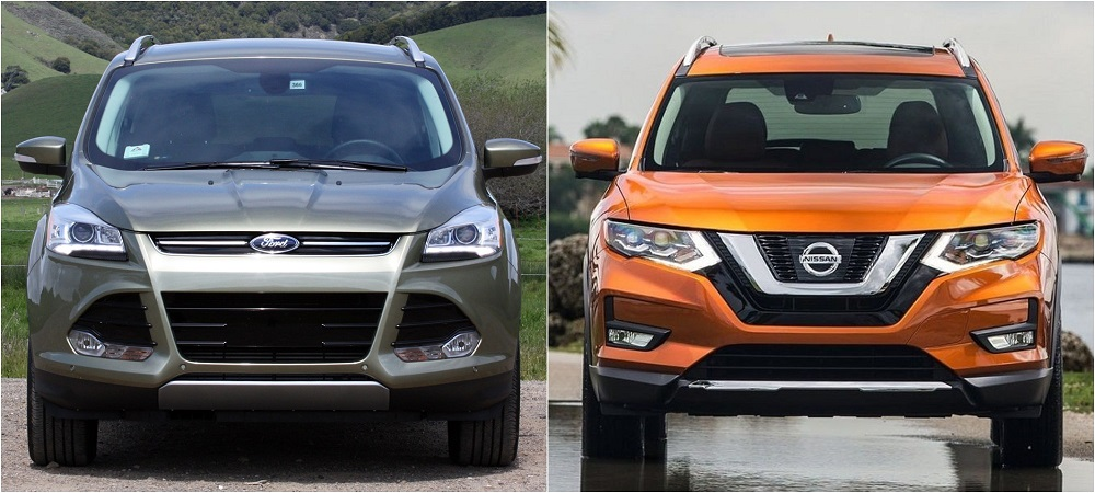 Ford Kuga и Nissan X-Trail