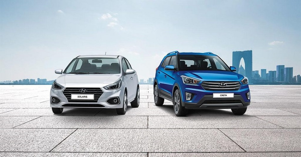 Hyundai Creta и Hyundai Solaris