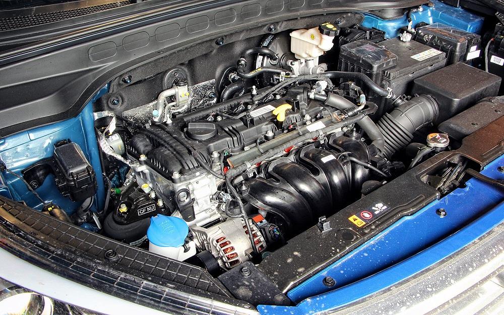 Hyundai Creta мотор