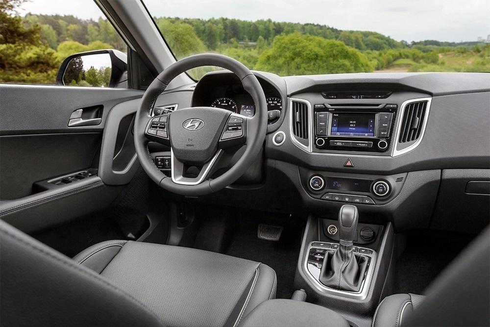 Hyundai Creta салон в машине