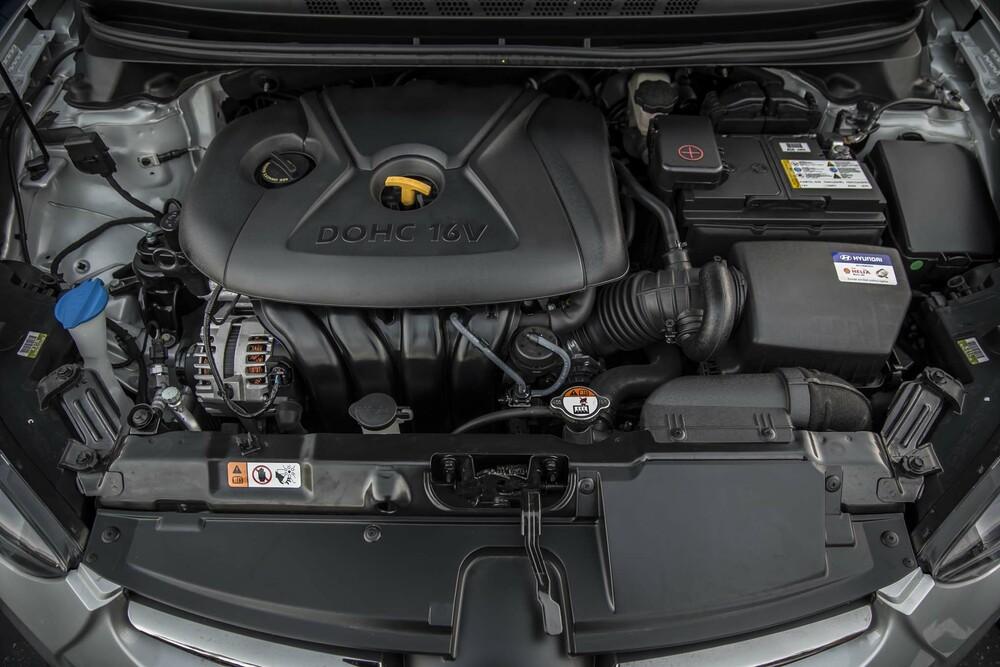 Hyundai Elantra двигатель